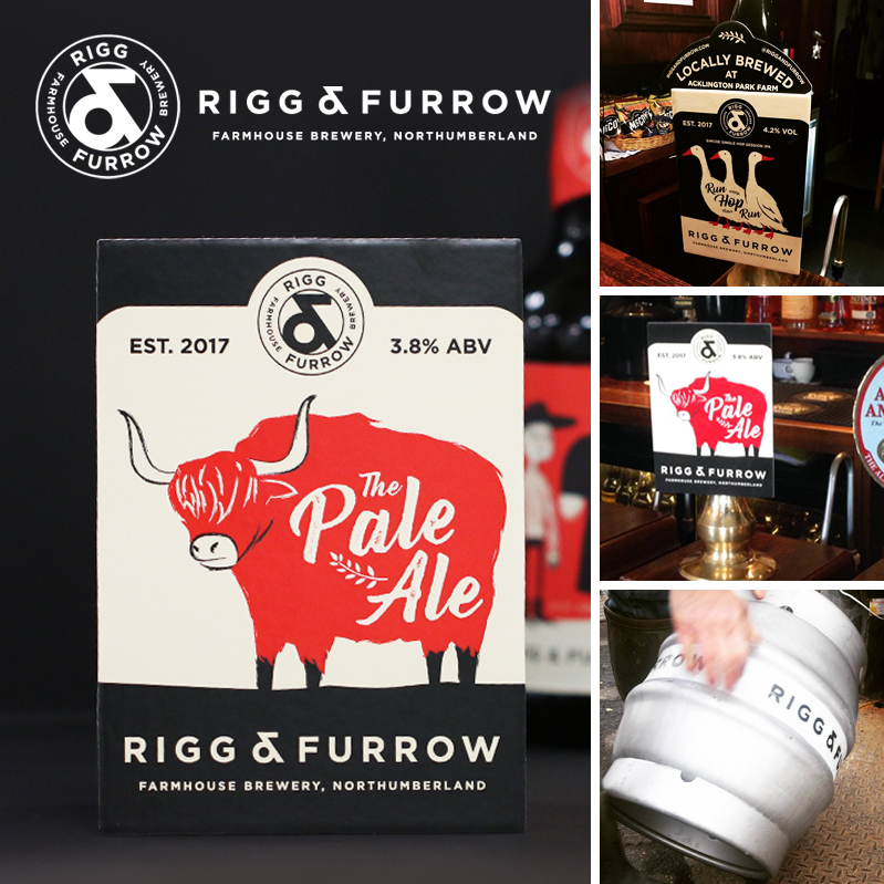 Successfully Branding A Startup – Craft Beer Brewery Rigg and Furrow