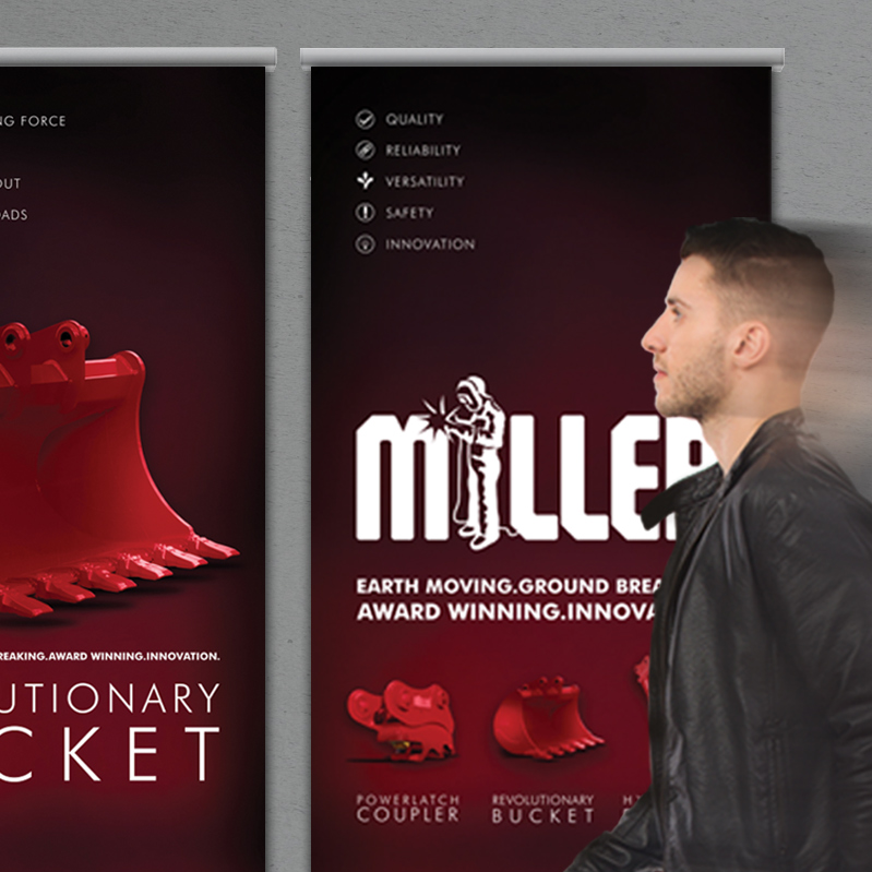 Ground Breaking Brand Styling and Imagery for Miller UK