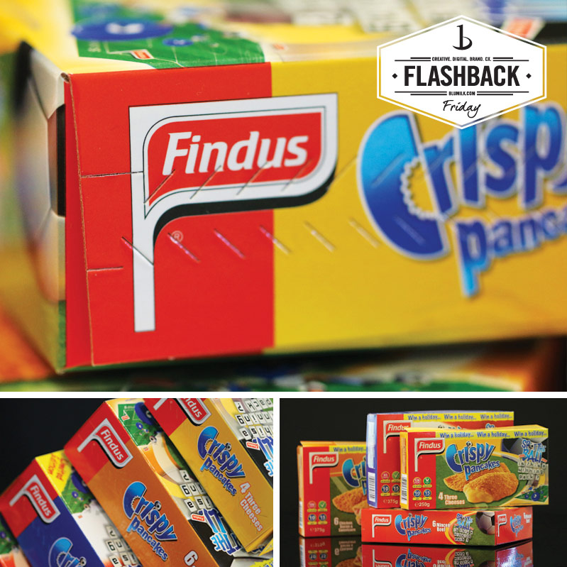 Findus: A Story of Package Design, World Cup Campaigns & Curry Crispy Pancakes