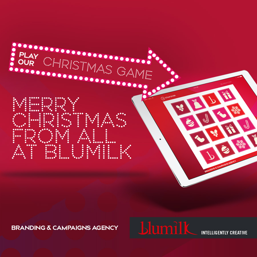 Merry Christmas from all at Blumilk