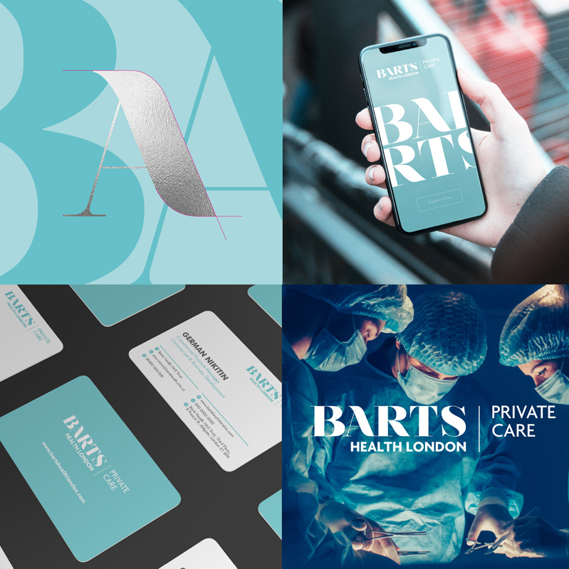 Another World Class Brand Identity for Global Health Service