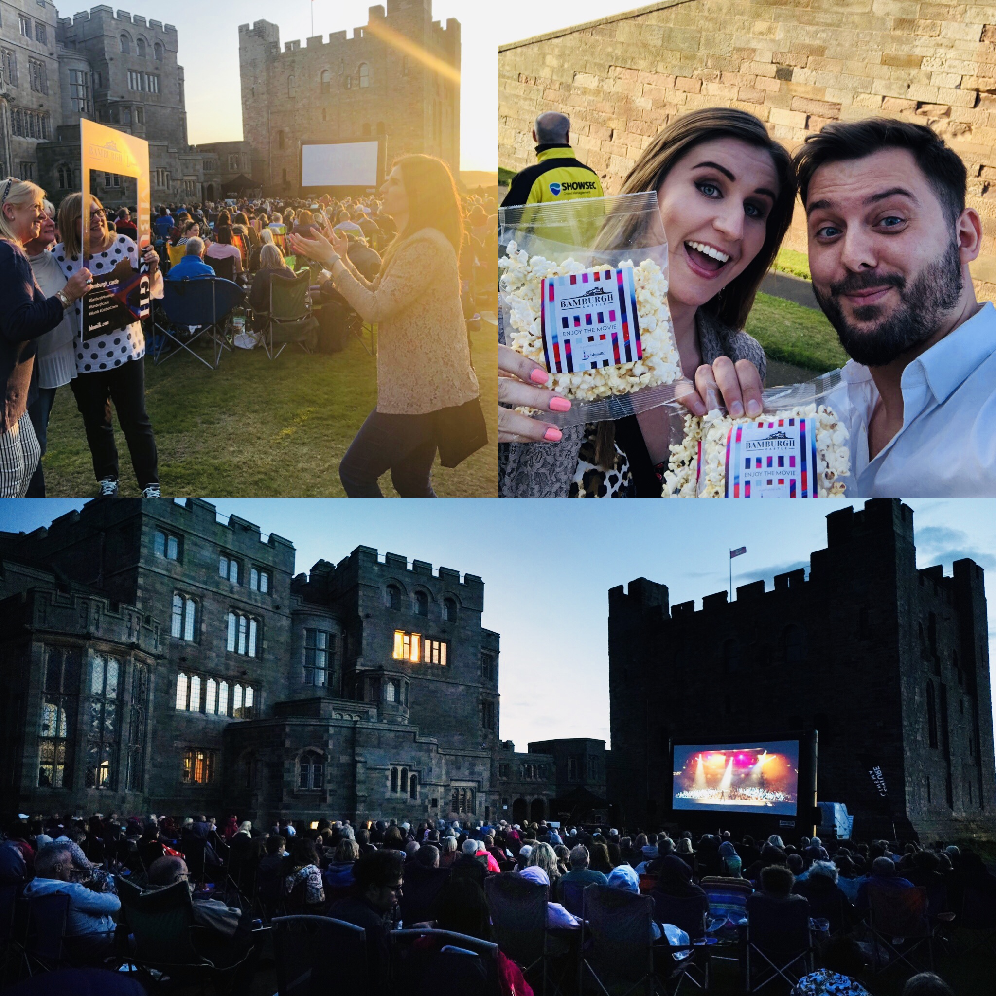 Cinema Under the Stars at Bamburgh Castle