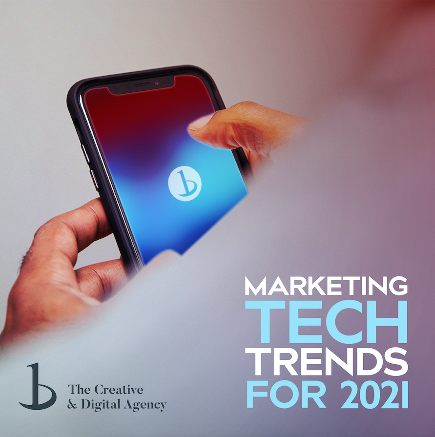Digital Marketing Tech Trends 2021