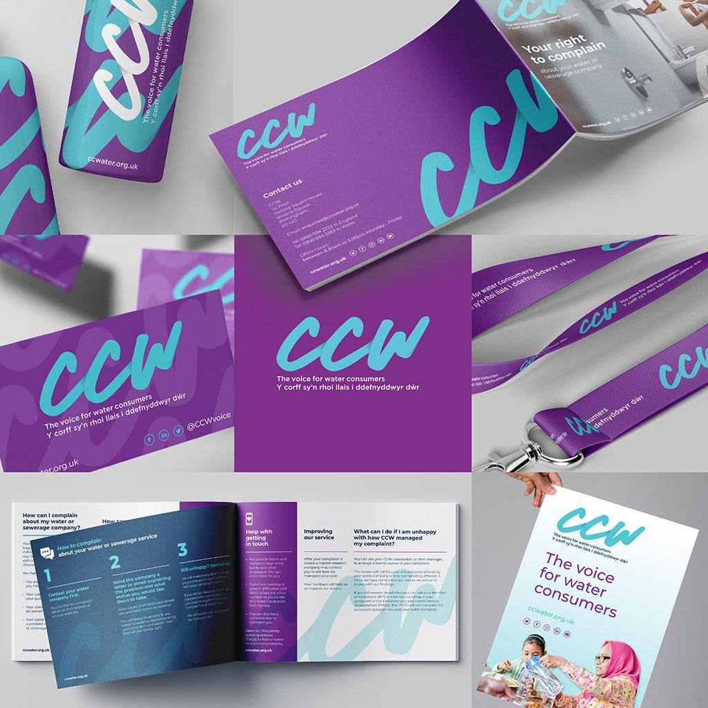 Client Spotlight; CCW   Rebrand